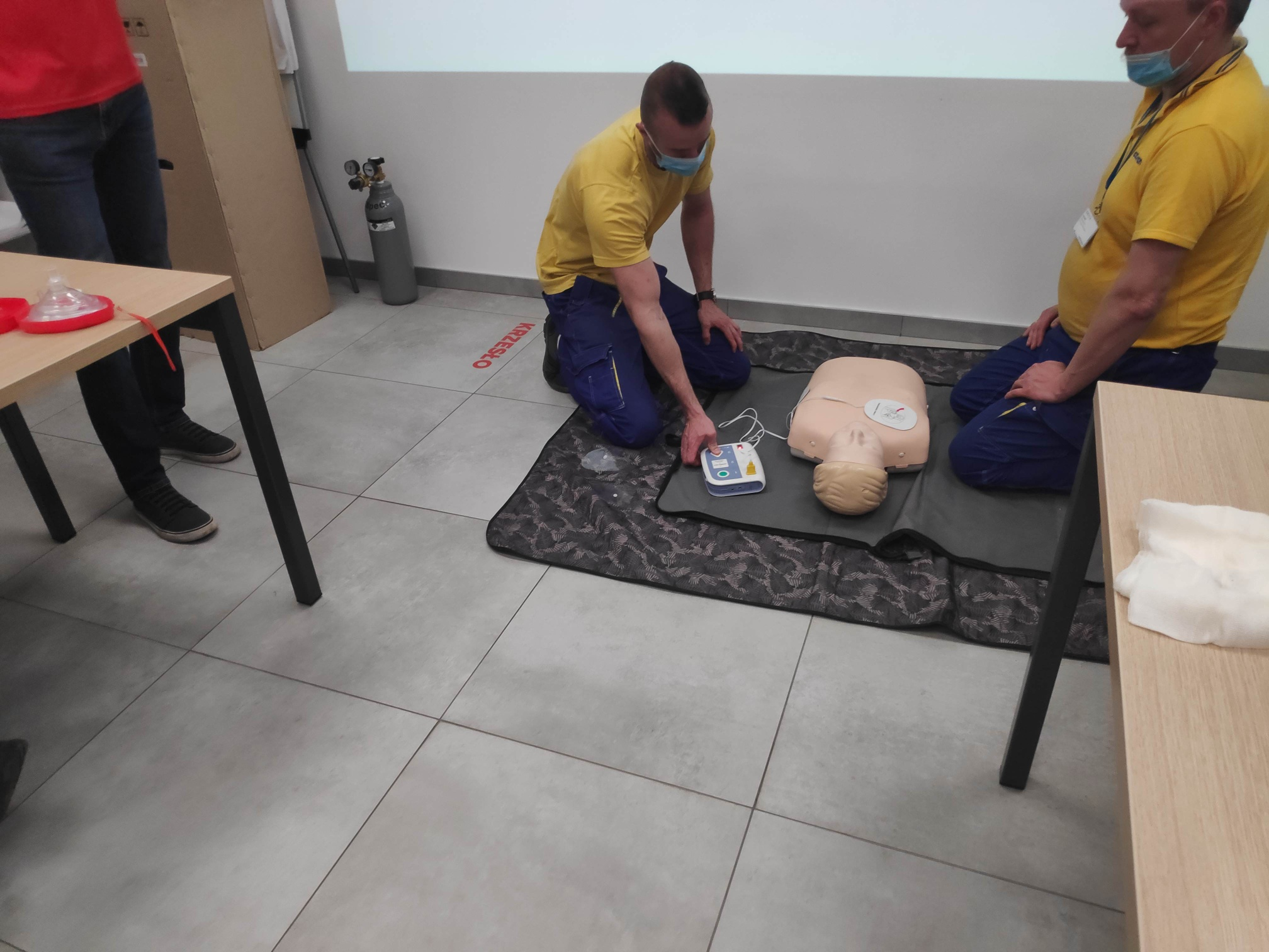 BLS + AED